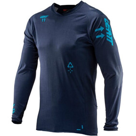 Leatt DBX 5.0 All Mountain - Maillot manga larga Hombre - azul